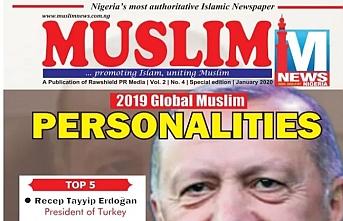 Erdoğan'a Küresel Müslüman Kişilik ödülü