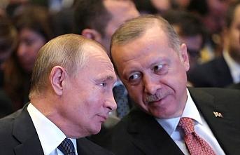 Erdoğan ve Putin'den açılış sonrası ikinci toplantı