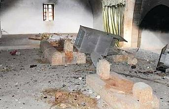 Esed Halife Ömer'in türbesini yaktı, rejimin yayın organı 'terörist' dedi!