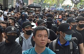 Hong Kong'da protestocular seçim reformu talebiyle sokağa çıktı