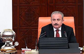 Irak Meclis Başkanı Halbusi TBMM Başkanı ile görüştü