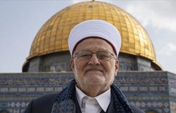İsrail parlamentosundaki Arap vekillerden Şeyh Sabri'nin 'Aksa'dan uzaklaştırılmasına' tepki