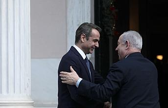 İsrail Başbakanı Netanyahu Atina'da