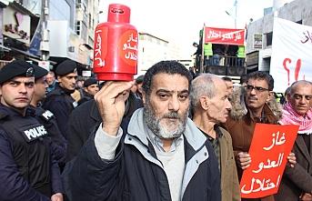 İsrail'den doğal gaz ithalatı Ürdün'de protesto edildi