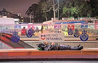 İstanbul Valiliğinden sokakta yaşayanlar için ek önlem alındı