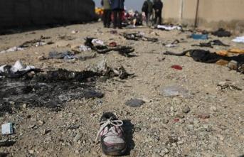 Kurtulan yok... İran'da 176 kişinin öldüğü uçak kazasının ilk görüntüleri