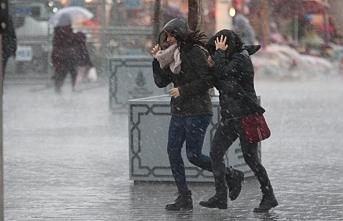 Marmara ve Akdeniz'de fırtına alarmı