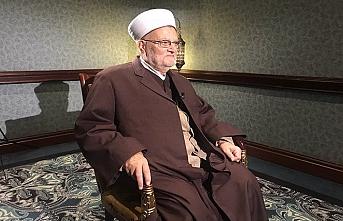 Mescid-i Aksa İmam Hatibi Şeyh İkrime Sabri'ye 4 ay yasak geldi