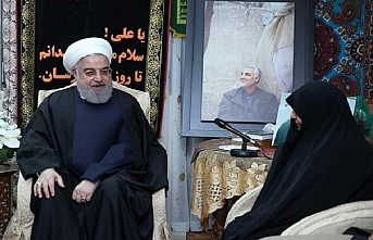 Ruhani ve Sadr, Kasım Süleymani'nin evine gitti
