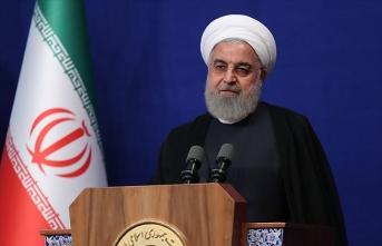 Ruhani'den Trump'a tepki: İran'ı tehdit etmeyin