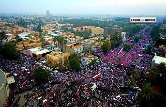 Sadr, ABD'ye karşı direnişi bir süreliğine durdurduğunu açıkladı