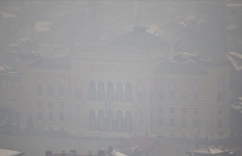 Saraybosna'da hava kirliliği sağlığı tehdit edecek boyuta ulaştı