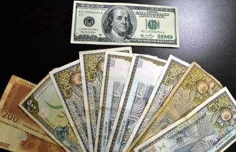 Suriye lirası, dolar karşısında son iki haftada üçte bir değer kaybetti