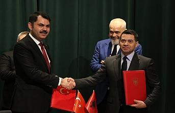 Türkiye ile Arnavutluk arasında 500 konutluk anlaşma