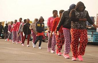 161 Nijeryalı Libya'dan ayrıldı