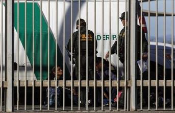 ABD'ye geçmek isteyen 29 bin düzensiz göçmen Meksika'da gözaltına alındı