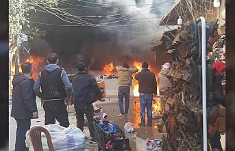 Afrin'de korkunç saldırı: Çok sayıda ölü ve yaralı var