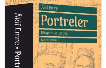 Akif Emre'den Portreler kitabı Büyüyenay'dan çıktı