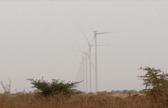 Batı Afrika'nın ilk rüzgar enerjisi çiftliği Senegal'de açıldı