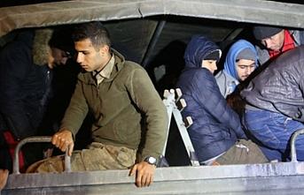 Edirne'de 176 göçmen yakalandı