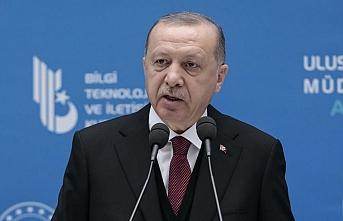 Erdoğan: Bu yılın sonunda uzaya göndereceğiz
