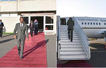 Eritre lideri davet üzerine Suudi Arabistan'a uçtu