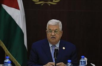 Filistin Devlet Başkanı Abbas'tan 'iki devletli çözüme bağlılık' açıklaması