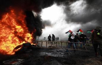 Filistinli genç protestocu, İsrail askerlerinin müdahalesinde şehit oldu