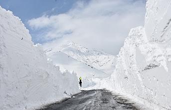 Hakkari-Şırnak kara yolu çığ nedeniyle kapandı