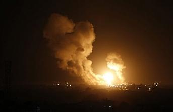 İsrail'den Filistin İslami Cihad'ın Suriye'deki hedeflerine saldırı