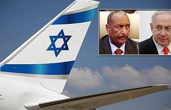 İsrail'e ait bir uçak, Sudan hava sahasını kullandı