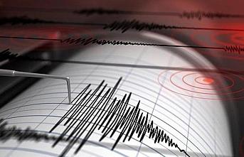 Marmaris ilçesi açıklarında 4,3 büyüklüğünde deprem