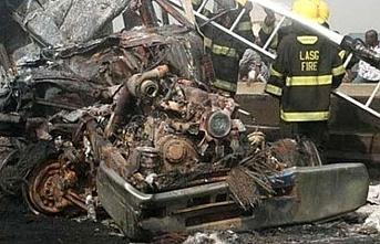 Nijerya'da trafik kazası: 22 ölü, 11 yaralı