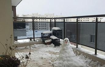 Nusaybinliler üç yıl sonra karı gördü