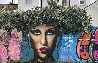 Özbekistan sokaklarına grafiti rüzgarı