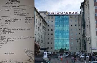 Rize'de koronavirüs alarmı: Bir kişi karantinaya alındı
