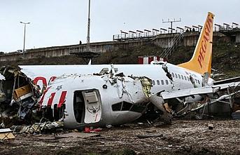 Sabiha Gökçen'de kaza yapan Pegasus uçağının kaptan pilotu ifade veriyor