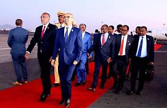Somali liderleri, Somaliland lideri ile ilk kez bir araya geldi