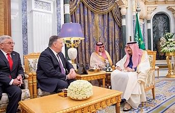 Suudi Kral müttefiki ABD ile bölge sorunlarını görüştü