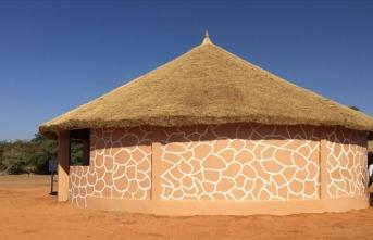 TİKA'dan Nijer'de nesli tükenme riski yaşayan zürafalara destek