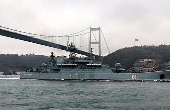 Türkiye Esed rejimine destek için giden savaş gemilerine boğazları kapatabilir