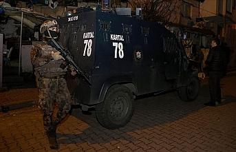 Zehir tacirlerine helikopter destekli operasyon: 44 gözaltı