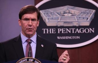 ABD Savunma Bakanı Esper: Kovid-19 salgınının ülkede gerilemesi 8-10 hafta alacak