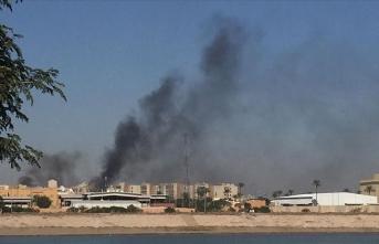 Irak'ta füzeli saldırı