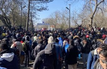 Bakan Soylu, sınırdan ayrılan göçmen sayısını açıkladı