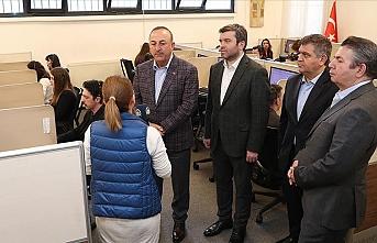 Bakan Çavuşoğlu: Koronavirüsle ilgili bir koordinasyon ve destek merkezi kurduk