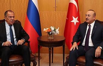 Çavuşoğlu, mevkidaşı Lavrov ile telefonda görüştü