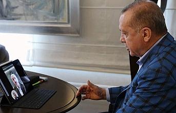 Cumhurbaşkanı Erdoğan, Ulaştırma ve Altyapı Bakanı ile görüştü