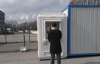 Dereköy Sınır Kapısı'nda tedbirler arttırıldı