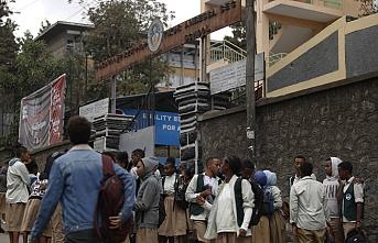 Etiyopya'da okullar tatil edildi